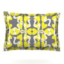 Flowering Hearts by Miranda Mol Woven Pillow Sham