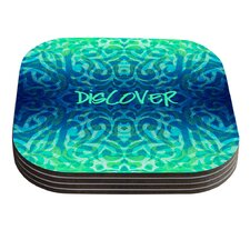 Tattooed Discovery by Caleb Troy Coaster (Set of 4)