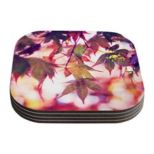 On Fire by Sylvia Cook Coaster (Set of 4)