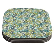 Tropical Leaves by Julia Grifol Coaster (Set of 4)