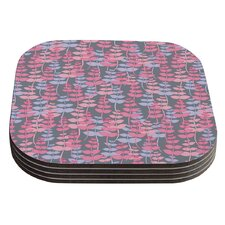 My Leaves Garden by Julia Grifol Coaster (Set of 4)