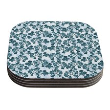 Flowers by Julia Grifol Coaster (Set of 4)