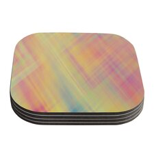 Pastel Abstract by Ingrid Beddoes Coaster (Set of 4)