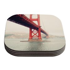 Golden Gate by Bree Madden Coaster (Set of 4)