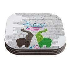 Elephants Coaster (Set of 4)