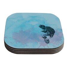 Turtle Tuba II by Graham Curran Coaster (Set of 4)