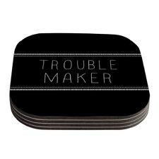 Trouble Maker by Skye Zambrana Coaster (Set of 4)