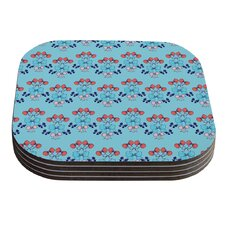 Bows by Anneline Sophia Coaster (Set of 4)