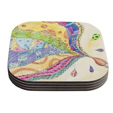 The Painted Quilt by Catherine Holcombe Coaster (Set of 4)