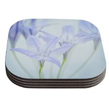 Triplet Lily by Iris Lehnhardt Coaster (Set of 4)