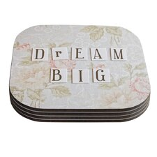 Dream Big by Debbra Obertanec Coaster (Set of 4)