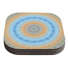 Summer Mandala by Iris Lehnhardt Coaster (Set of 4)