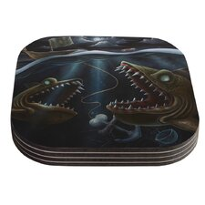 Sink or Swim by Graham Curran Coaster (Set of 4)