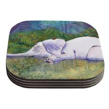 Ernie's Dream by Catherine Holcombe Coaster (Set of 4)