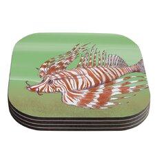 Fish Manchu by Catherine Holcombe Coaster (Set of 4)