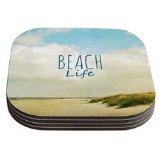 Beach Life by Iris Lehnhardt Coaster (Set of 4)