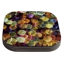 Warm Sparkle by Ingrid Beddoes Coaster (Set of 4)