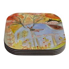 Promise of Magic by Marianna Tankelevich Coaster (Set of 4)