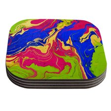 Escaping Reality by Claire Day Coaster (Set of 4)