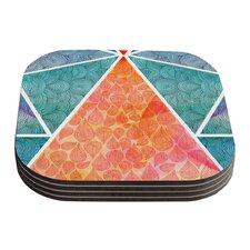 Pyramids of Giza by Pom Graphic Design Coaster (Set of 4)