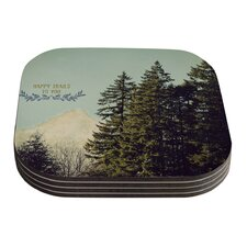 Happy Trails by Robin Dickinson Coaster (Set of 4)