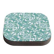 Swirling Tiles by Miranda Mol Coaster (Set of 4)