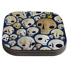 Skulls by Jaidyn Erickson Coaster (Set of 4)