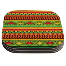 Egyptian by Louise Machado Coaster (Set of 4)