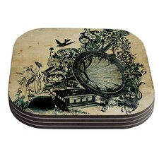 Sound of Nature by Frederic Levy-Hadida Coaster (Set of 4)