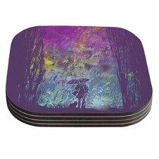 Rain by Frederic Levy-Hadida Coaster (Set of 4)