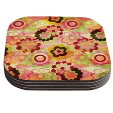 Colorful Mix by Louise Machado Coaster (Set of 4)