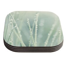 Blue Ice by Ingrid Beddoes Coaster (Set of 4)