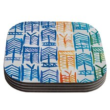 Quiver II by Theresa Giolzetti Coaster (Set of 4)