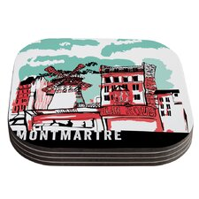 Montmartre by Theresa Giolzetti Coaster (Set of 4)