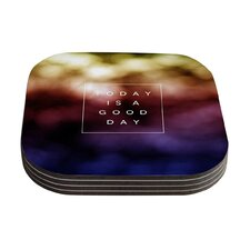 Good Day by Galaxy Eyes Coaster (Set of 4)