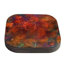 Tie Dye Paisley by Nikki Strange Coaster (Set of 4)