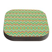 Bright And Bold by Pom Graphic Design Coaster (Set of 4)