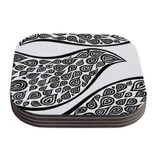 Bird in Disguise by Pom Graphic Design Coaster (Set of 4)