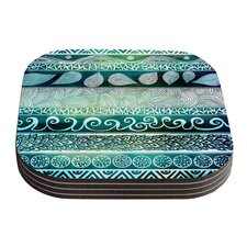 Dreamy Tribal by Pom Graphic Design Coaster (Set of 4)