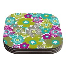 Little Bloom by Nicole Ketchum Coaster (Set of 4)