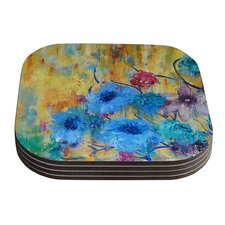 Cosmic Love Garden by Sonal Nathwani Coaster (Set of 4)