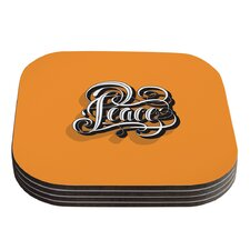 Peace by Roberlan Coaster (Set of 4)