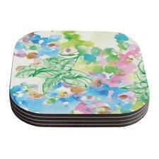 Leaf Bouquet by Sonal Nathwani Coaster (Set of 4)