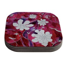 Succulent Dance II by Theresa Giolzetti Coaster (Set of 4)