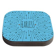 Fearless by Skye Zambrana Coaster (Set of 4)