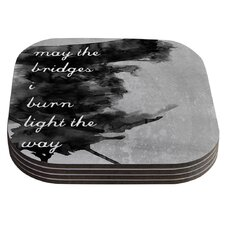Bridges by Skye Zambrana Coaster (Set of 4)