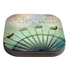 Every Summer Has a Story by Sylvia Cook Coaster (Set of 4)