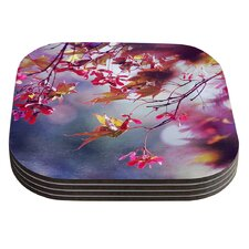 Autumn by Sylvia Cook Coaster (Set of 4)