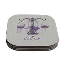 Libra by Belinda Gillies Coaster (Set of 4)