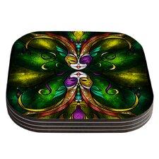 Topsy Turvy by Mandie Manzano Coaster (Set of 4)